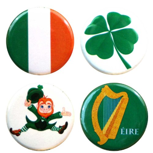 Irish Fridge Magnets (Buttonsmith Ireland 1.25