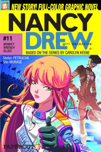 Download Monkey-Wrench Blues (Nancy Drew Graphic Novels: Girl Detective #11) pdf