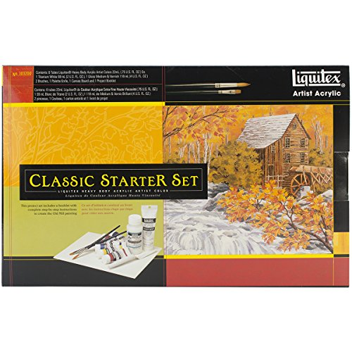 Liquitex Professional Heavy Body The Old Mill Classic Starte