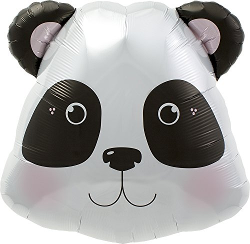 Panda Head Balloons - 28in (Each) 0076701 - Party Supplies for $<!--$5.99-->