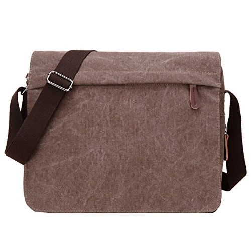 Business Diagonal Laidaye Canvas Multi Travel style Leisure Business Package Brown Backpack purpose Shoulder CtAfw0Uq