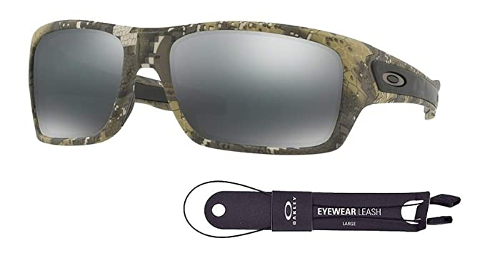 1abcabf9f0 Oakley Turbine OO9263 926331 63M Desolve Bare Camo/Black Iridium Sunglasses  For Men+BUNDLE