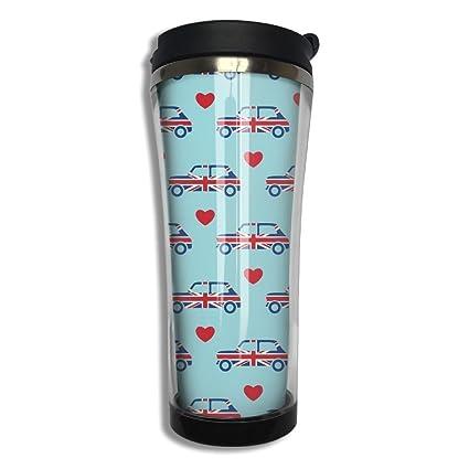 Amazon.com | Mini Cooper Insulated Stainless Steel Travel Mug Coffee ...