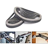 3/8 Inch X 13 Inch Sanding Belts, 4 Each of