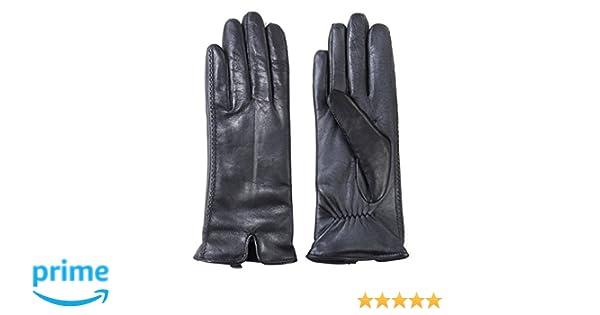 b194bf594b555 Amazon.com: Fownes Brothers Women's Leather Gloves (Black, Medium): Clothing