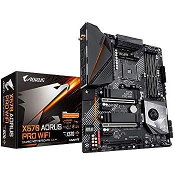 GIGABYTE X570 AORUS PRO WiFi (AMD Ryzen 3000/X570/ATX/PCIe4.0/DDR4/USB3.1/Realtek ALC1220-VB/Fins-Array Heatsink/RGB Fusion 2.0/2xM.2 Thermal ...