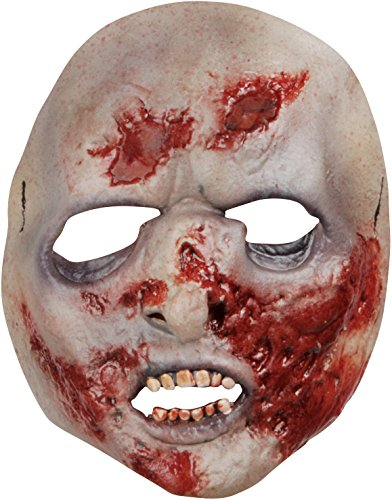 [Morris Costumes Halloween Party Fashion Holiday Apparel Outfit Walking Dead Prison Walker Latex Face] (Spirit Walker Costume)