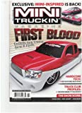 Mini Truckin' Magazine (First Blood Sadistic Iron werks does it again, Feb 2010)