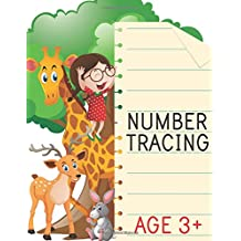 Number Tracing: Learn 0 to 20 - Number Tracing Book For Preschool - Handwriting Practice Book: Letter & Number Tracing