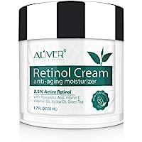 Crema hidratante milagrosa de retinol para la cara: con retinol, ¨¢cido hialur¨®nico, vitamina E y t¨¦ verde. La mejor…