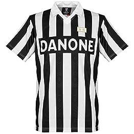 Score Draw Juventus Turin 1993 UEFA Cup Finale Maillot T-Shirt, Noir/Blanc, S pour Hommes