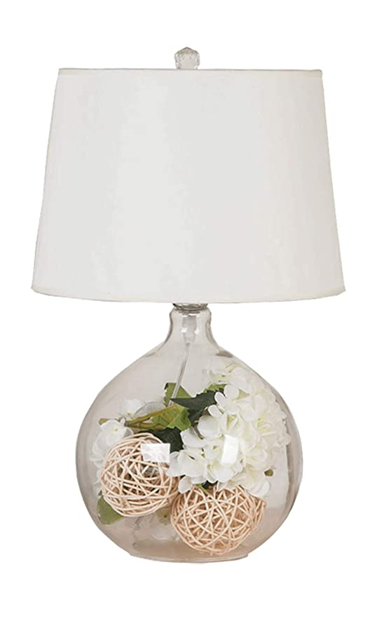 Table lamp-Q QFF Lámparas de Mesa de Vidrio, Dormitorio Sala ...