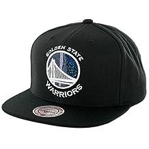 Mitchell & Ness NBA Dark Hologram Snapback Hat - Black