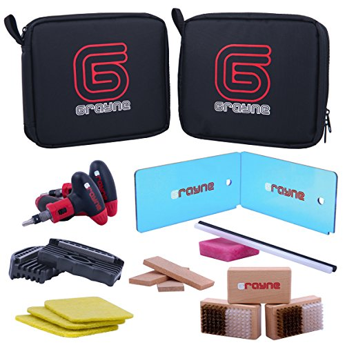 Grayne Ski and Snowboard Tuning and Wax Kit