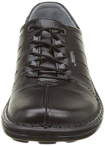 antideslizante 2012 negro color mujer O1 para antiestático SRA EN Abeba 6910 20347 ISO Zapato negro FO de negro piel trabajo CE y PPvTHq