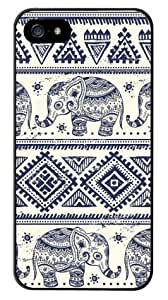 Generic Tribal Totem Elephant Aztec Protective Hard Back Case Cover for iPhone 4/4s