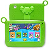 LLLtrade 7 inch Kids Education Tablets Android 5.1 8GB, Kids Software Pre-Installed, Premium Parent Control, Educational Game Apps,Wifi,Bluetooth (Green)