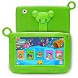 LLLtrade 7 inch Kids Education Tablets Android 5.1 8GB, Kids Software Pre-Installed, Premium Parent Control , Educational Game Apps ,Wifi ,Bluetooth (Green)