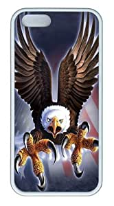 iphone 6 4.7 Cases & Covers -Fierce Eagle TPU Silicone Rubber Case Cover for iPhone 6 4.7 and iphone 6 4.7 White