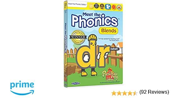 Amazon.com: Meet the Phonics - Blends DVD: Animation, Kathy Oxley ...