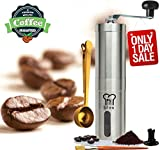 Silva Manual Coffee Grinder with Hand Crank - Conical Burr Mill -...