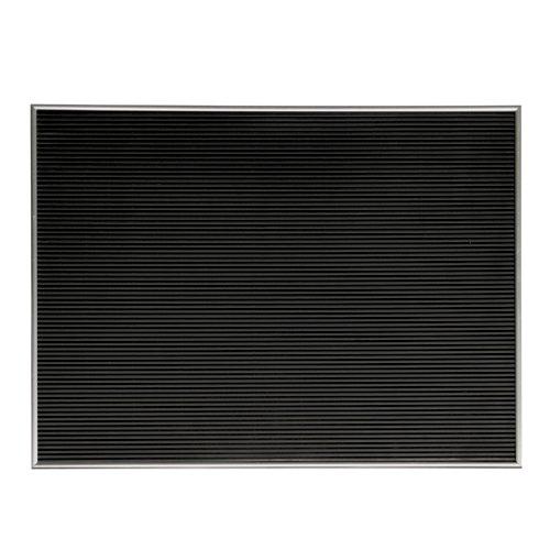 Letter Board レターボード Lサイズ シルバー [ヨコ型/ホリゾンタル Horizontal] B019Q7EMCOシルバー ホリゾンタル:横60×奥行1.7×縦45cm