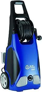 AR ANNOVI REVERBERI Blue Clean, AR383 1,900 PSI Electric Pressure Washer, Nozzles, Spray Gun, Wand, Detergent Bottle & Hose