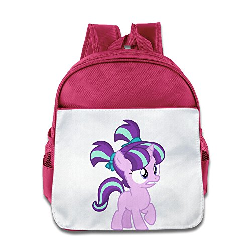 XJBD Custom Personalized Rainbow Horse Boys And Girls School Bagpack Bag For 1-6 Years Old (Wreck It Ralph Girl Costume)