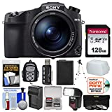 Sony Cyber-Shot DSC-RX10 IV 4K Wi-Fi Digital Camera with 128GB Card + Backpack + Flash + Battery & Charger + Tripod + Filters + Kit Review