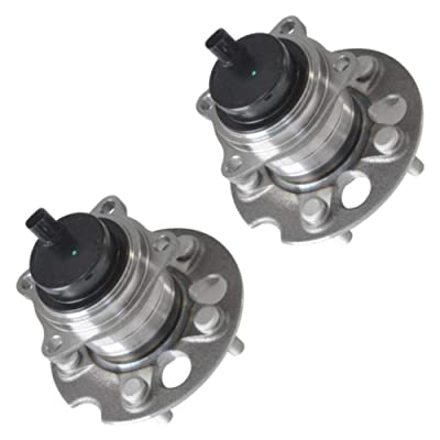 BreaAP 1 Pair Rear Wheel Hub & Bearing Assembly For 2004-2010 Toyota Sienna FWD W/ABS: Automotive