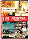 Family Adventures Collector's Set (The Sign of the Beaver / The Legend of Tillamook's Gold / The Adventures of Swiss Family Robinson / The Treasure Seekers)