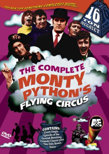 The Complete Monty Python's  Flying Circus 16 Ton Megaset by A&E