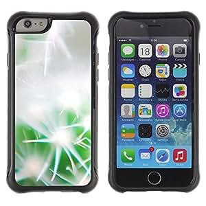 Pulsar Defender Series Tpu silicona Carcasa Funda Case para Apple iPhone 6 Plus(5.5 inches), Gentle cactus