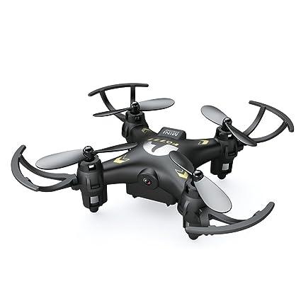 Donsinn Mini RC Quadcopter - Cámara HD 2.4G 4CH 6 Axis Gyro Modo ...