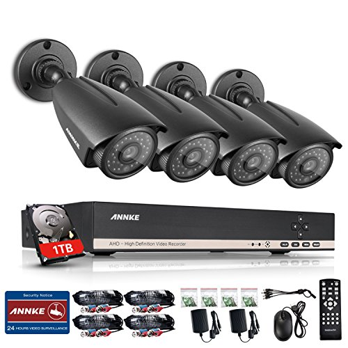 8 Channel Surveillance Pre installed Weatherproof Cameras