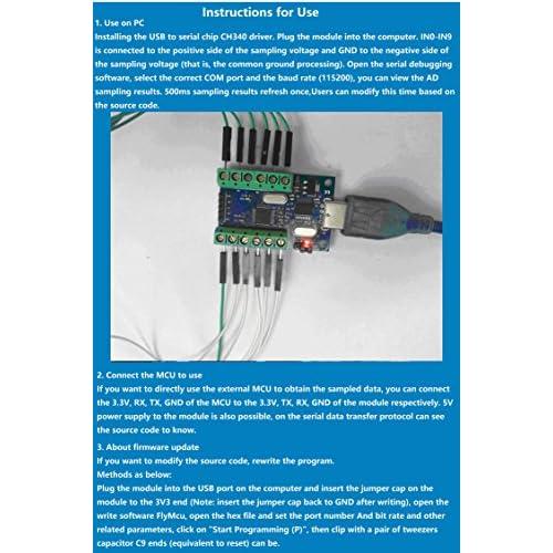 high-quality NOYITO USB 10-Channel 12-Bit AD Data