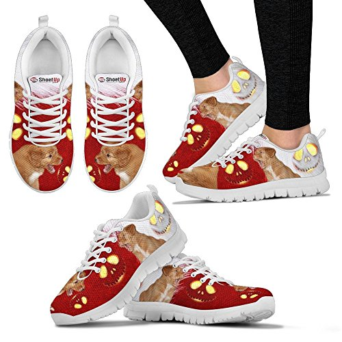 Halloween Duck Women's Breed Your Scotia Choose Print Casual All Sneakers Nova Running Dog Tolling Retriever Shoes Women's tgAwFS6qnx