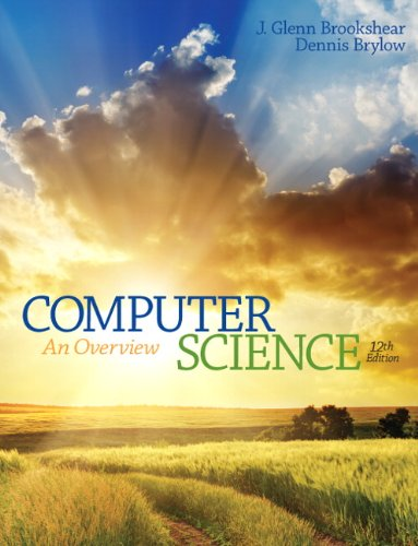 Computer Science: An Overview (12th Edition) (Best Computer Science Textbooks)
