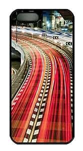 Japan City Bridge Hard Plastic Case for iPhone 5/5S Black