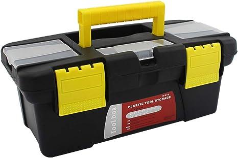 TOPBATHY Caja de Herramientas de plástico con Mango Caja de Herramientas de reparación de Hardware Caja de Herramientas de Mango multifunción: Amazon.es: Productos para mascotas
