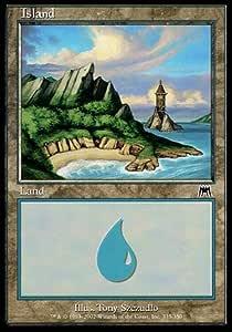 Odyssey *Nr MTG 1x ISLAND 335 FOIL SL* INSEL