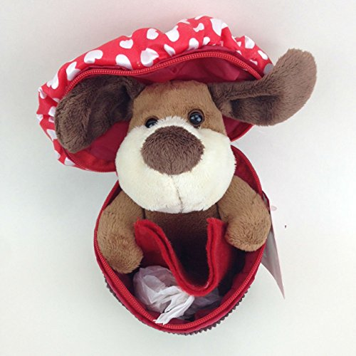 - Dog in Cupcake Valentines Day Plush Gift Card Holder