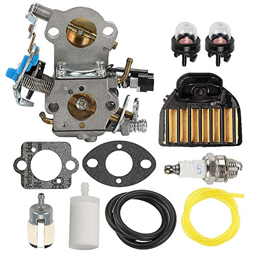 Allong WTA-29 Carburetor with for Husqvarna 455 Rancher 455 E 460 461 Gas Chainsaw with Air Filter Tune up Kit