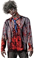 Forum Novelties Mens Undead Zombie Shirt (Standard Up To 42 Chest)