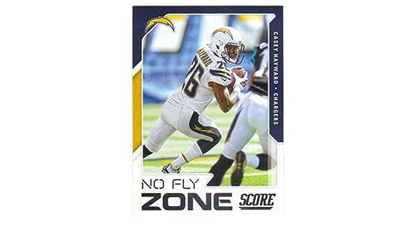 Amazon.com  2017 Panini Score Football No Fly Zone  5 Casey Hayward   Collectibles   Fine Art fea86bb3b