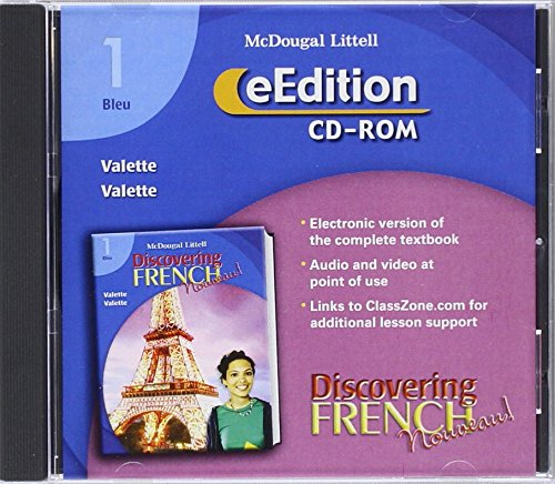 Discovering French Nouveau! 1 Bleu - eEdition on CD-ROM