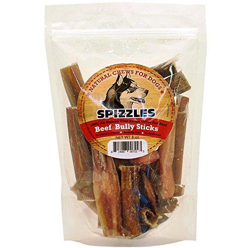 Spizzles Beef Bully Sticks (8 oz) (Sticks Spizzle)