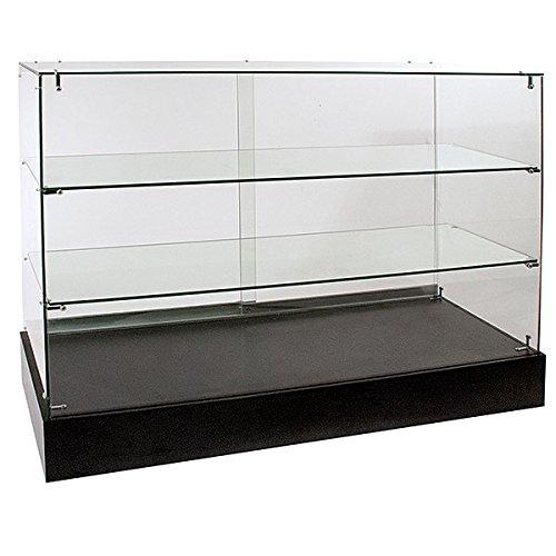 KC Store Fixtures 16524 Frameless Glass Showcase Full Vision, 38