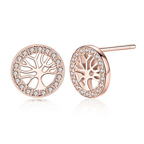 Disc Kidney Wire Earrings - 8
