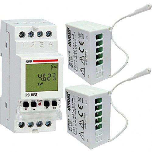 3 opinioni per Kit configurato centralina + 2 attuatori remoti SET PC RF8 VEMER VE737300